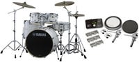 Yamaha SCH2HP587-PW Stage Custom Hybrid Electronic / Acoustic Kit in Pure White