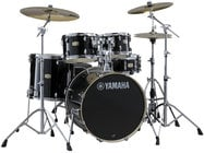 Stage Custom Hybrid Electronic / Acoustic Kit in Raven Black
