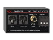 Radio Design Labs TX-TPR6A  Passive Single-Pair Receiver