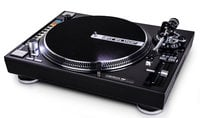 Direct-Drive Turntable with Straight Tone Arm, USB, and Drum Pads