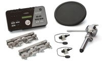 "Electronic Drum Hybrid Pack with (1) 7"" Drum Pad and (2) Acoustic Drum Triggers"