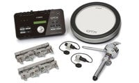 "Yamaha DTXHP580 Electronic Drum Hybrid Pack with (1) 8"" Drum Pad and (2) Acoustic Drum Triggers"