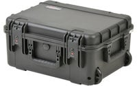 "iSeries Waterproof Case with TSA Latches, Cubed Foam Interior and Wheels, 19""x14.38""x8"""