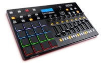 USB-MIDI Pad Controller with RGB Backlit Pads and 64-Channel Step Sequencer