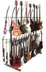 Rack for Electric Guitars