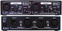 Rolls MP222  Dual-Channel Studio Microphone Preamp