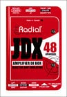 Radial Engineering JDX 48 Reactor Guitar Amplifier Direct Box
