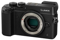 Panasonic DMC-GX8KBODY 20.3MP LUMIX GX8 Interchangeable Lens (DSLM) Camera Body Only in Black DMC-GX8KBODY