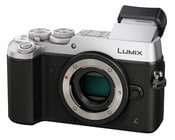 20.3MP LUMIX GX8 Interchangeable Lens (DSLM) Camera Body Only in Silver