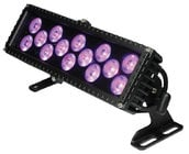 Blizzard Lighting MOTIF FRESCO 14x3W IP65 Tri Color RGB LED Wash Fixture