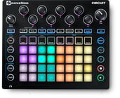 Novation CIRCUIT Circuit Groove Box + Sample Import Nova Synth and Drum Machine with Circuit Components Suite