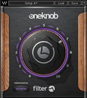 Waves OneKnob Filter Sweepable Filter Plugin OKFLTNATSG