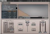 Acoustic Modeled Convolution Reverb Plugin