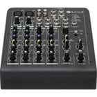 6-Channel Compact Mixer with Built-In Effects and 2 XLR Inputs