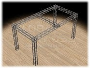 Global Truss TB-10x20-F34-003  Truss Tradeshow Booth Structure TB-10x20-F34-003