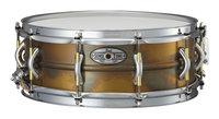 """14"""" x 5"""" SensiTone Premium Beaded Brass Snare Drum"""