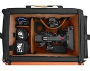 Large Rigid-Frame Wheeled Protective Camera Carry Case, Black