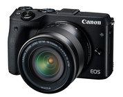 Canon EOS-M3-DUAL-LENS KIT 24.2MP EOS M3 DSLR with EF-M 18-55mm IS STM & EF-M 55-200mm STM Lenses