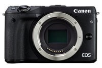 24.2MP EOS M3 DSLR Body Only in Black