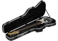 SKB 1SKB-FB-4 Shaped Standard Bass Case Hardshell Electrical Bass Case
