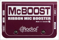 Mic Signal Booster for Dynamic and Ribbon Microphones