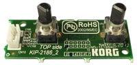 Korg GRA0002186 Volume/Balance PCB Assembly for PA600