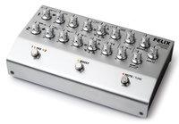 2-Channel Instrument & Microphone Preamplifier/Blender, Black