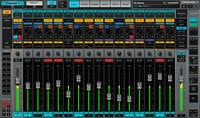 64 Channel Live Mixer with Full eMO D5 Dynamics