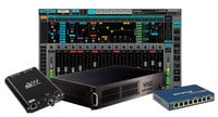 Waves EMOTION-MADI-MGB eMotion LV1 MGB MADI Package 64-Channel Live Digital Mixing Software & Hardware Package with DiGiGrid MGB Interface and SoundGrid Extreme Server