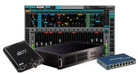 Waves EMOTION-MADI-MGO eMotion LV1 MGO MADI Package 64-Channel Live Digital Mixing Software & Hardware Package with DiGiGrid MGO Interface and SoundGrid Extreme Server