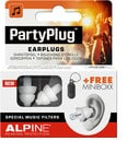 Alpine Hearing Protection PARTY-PLUG PartyPlug Single Pair of Filtered Earplugs