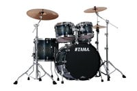 4-Piece Shell Kit, Smoky Indigo Burst Finish
