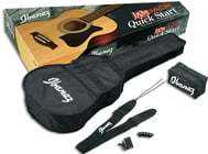 Ibanez IJVC50  JAMPACK Acoustic Guitar Package IJVC50