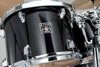 5 Piece Superstar Classic Maple Shell Pack in Brushed Charcoal Black Finish