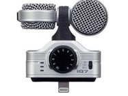 Zoom IQ7 iOS Dual Capsule Connector Microphone for iPhone, iPod touch, iPad, and iPad Mini