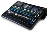 Allen & Heath Qu-24C Qu Series Chrome Edition 30-in/24-out Digital Mixing Console