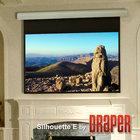 "Draper Shade and Screen 108222 Draper Shade and Screen Silhouette/Series E 60"" x 80"" Screen"