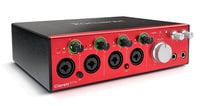 Focusrite Clarett 4Pre 18-input / 8-output Thunderbolt Audio Interface