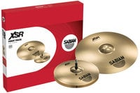 "Cymbal Pack with 14"" XSR Hats, 16"" XSR Fast Crash"