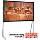 Draper Shade and Screen Cinefold Rear Projection Screen Ultimate Portable 83'x144'