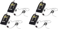Simultalk 4 Radios With Cyber Headset