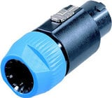 Neutrik NL8FC 8-pin Speakon Female Cable Connector
