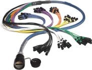 "150ft 24 Channel Inline Multipin/Fanout Snake with W3IRP Multipin Connector, (8) 1/4"" TRS Returns"