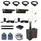 BLX Series Wireless Package with BLX24R/SM58-H9 & BLX14R/B98-H9 Systems and Accessories