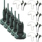 Eartec Co SSTSC5000LP SST Headset With SC-1000 Radios And Lapel Microphone Earbud
