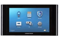 "Crestron TSCW-730-B-S  7"" Touch Screen Control System, Black Smooth"