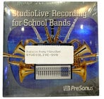 StudioLive Recording for School Bands
