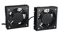 Tripp Lite SmartRack Wall-Mount Roof Fan Kit with 2 120V High-Performance Fans