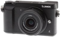 16 MP LUMIX 4K Mirrorless Interchangeable Lens Camera with 12-32mm Lens in Black