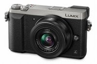 Panasonic DMC-GX85KS 16 MP LUMIX 4K Mirrorless Interchangeable Lens Camera with 12-32mm Lens in Silver